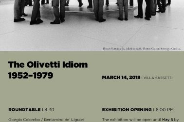 The Olivetti Idiom 1952-1979